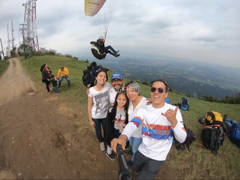 Come paragliding with the family