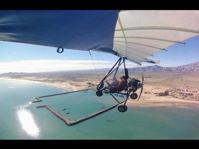 Ultralight panoramic flight San Felipe 15 min