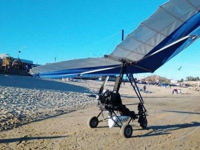 Ultralight panoramic flight in San Felipe 1h