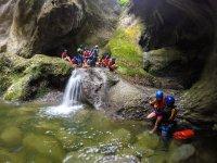 Trekking acuático en Jalcomulco 4 horas con lunch