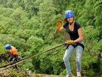 Rappel in Jalcomulco