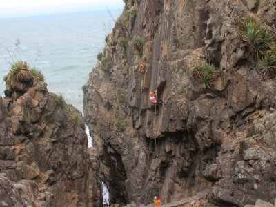 Rappel at 50m and lunch Playa Villa Rica 2 hours