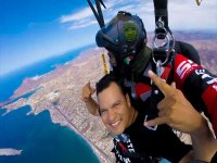 Tandem jump for birthday party in San Carlos