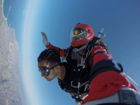 Parachute jump for groups in San Carlos