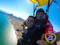 Skydiving in San Carlos Bay