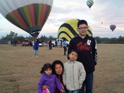 Balloon ride and breakfast for children Teotihuacán