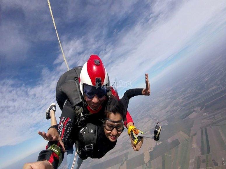 Free fall in General Terán