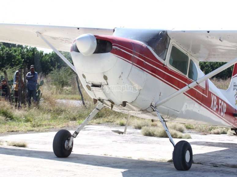 Plane for panoramic flight