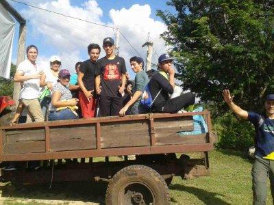 Campamento ecológico escolar en Miguel Colorado