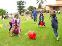 Games for children at party