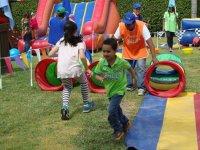 Children having fun at party
