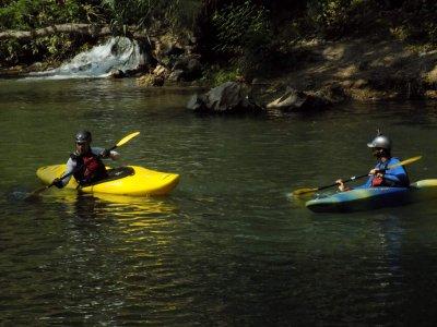 Curso de kayak en el río Amacuzac 2 días