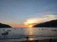 Atardecer en Puerto Marques