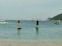 Enjoy from the sea on your SUP board