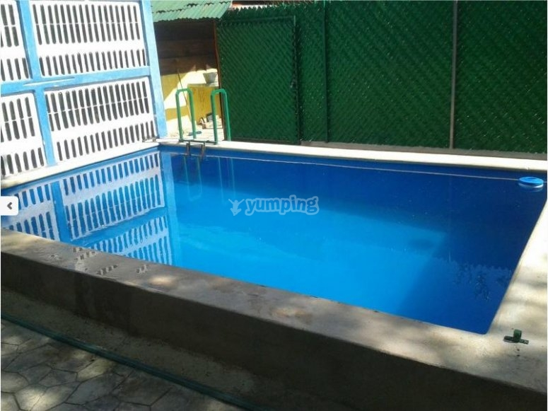 Pool in camp