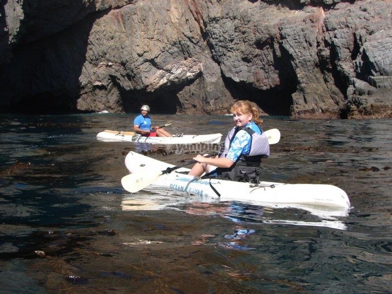 Tour en kayak en Ensenada