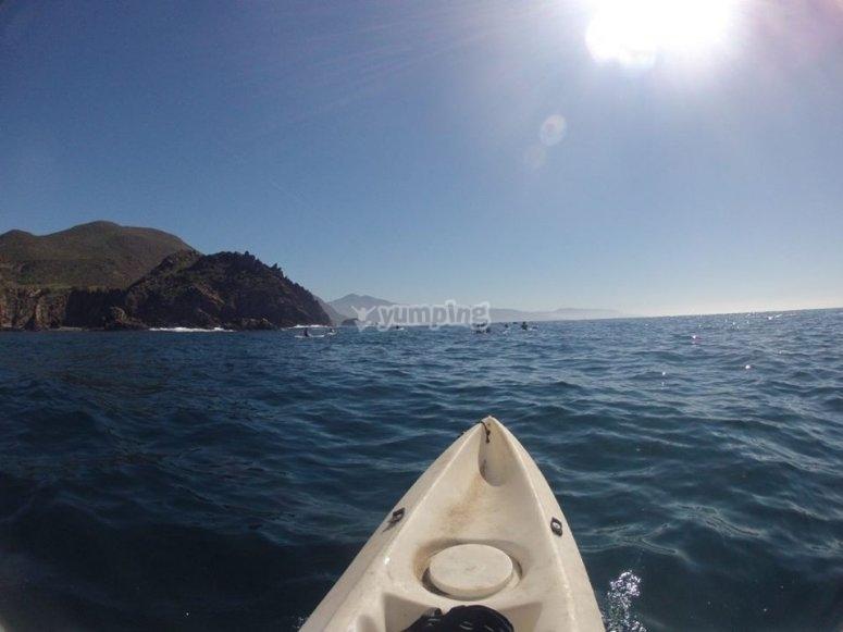 Paisajes sobre kayak