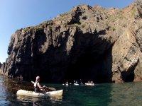 Kayak tour with transport in Ensenada