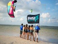 Kitesurf group class in Isla Blanca 3 hours