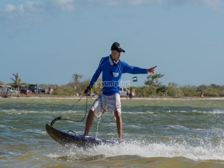 Kitesurfing techniques