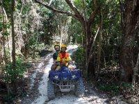 Tour en ATV biplaza a cenote en Playa del Carmen