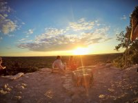 Private sunset tour with buffet food to Coba