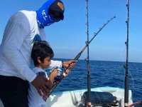 Teach your little one to fish