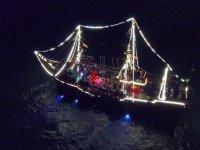 Paseo y show en barco pirata con cena en Cancún 5h