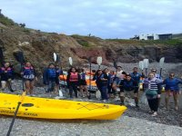 Kayak ride for groups to La Bufadora