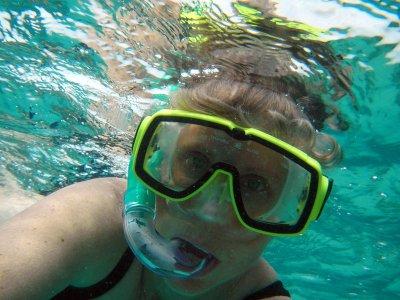 Snorkel para grupos en Bahía Papalote 1hra y 30min