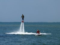 adrenaline and fun while you flyboard
