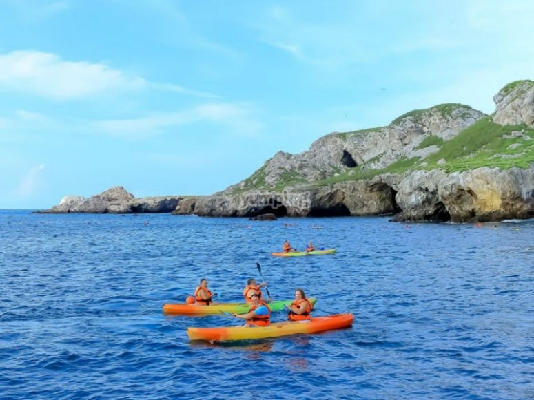 Kayak en Las Caletas