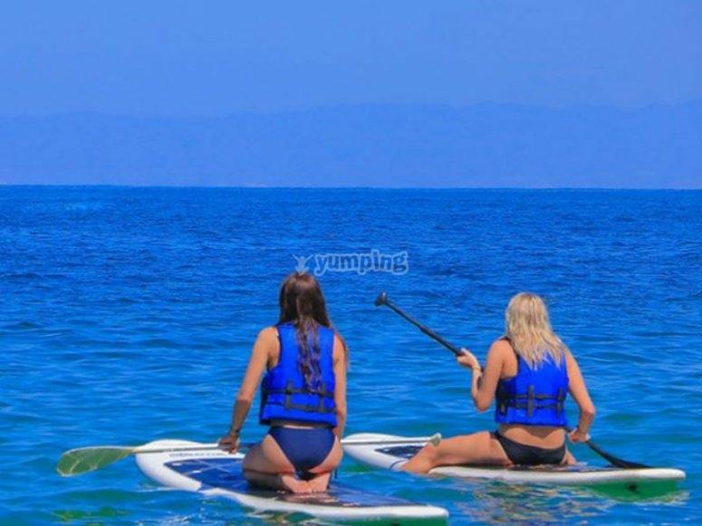 Paddle board en Las Caletas