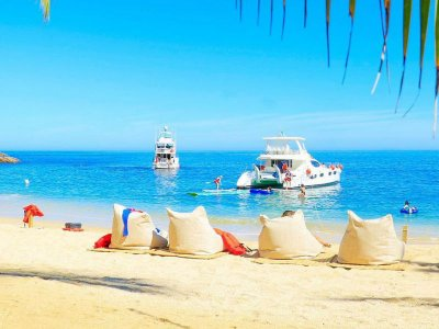 Boat trip and guided tour in Las Caletas 7hrs