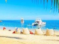Paseo en barco y visita guiada en Las Caletas 7hrs