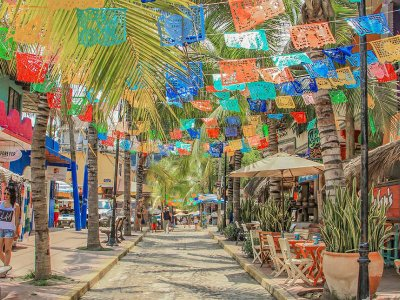 Guided tour of Sayulita and San Pancho with lunch