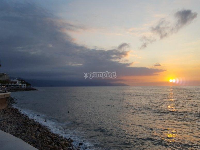Preciosas vistas de Bahía de Banderas