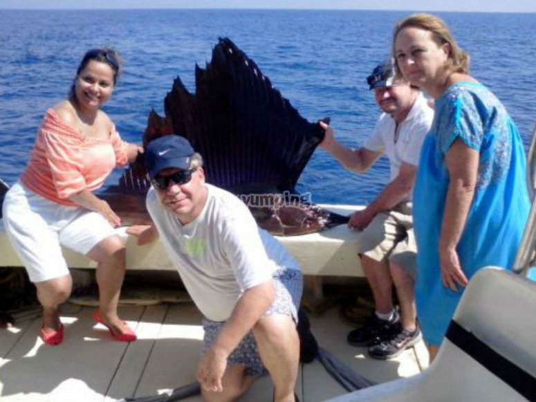 Ride and sport fishing