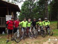 Foto en bici