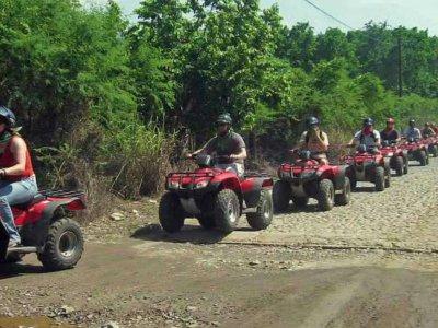 Single-seater ATV tour in Playa Troncones