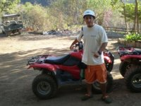 Ride in ATV