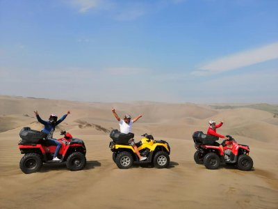 ATV tour in Chachalacas dunes 2 hours