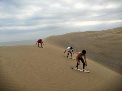 Sandboard en dunas del Sabanal en Chachalacas 4h
