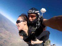 Jump with skydiving instructor