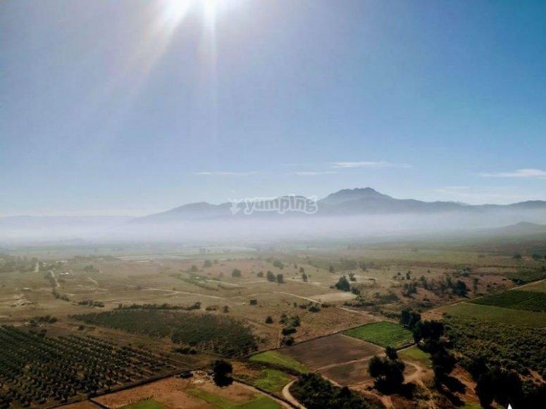 Landscapes in Valle
