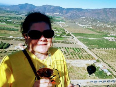 Balloon ride for 2 with breakfast Valle de Gpe
