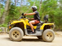 Feel the speed while driving your ATV