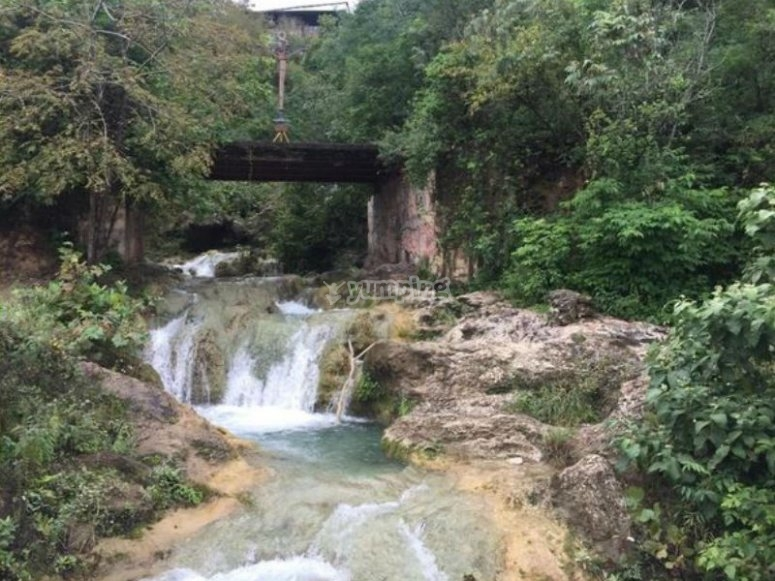 Getting to know the waterfalls