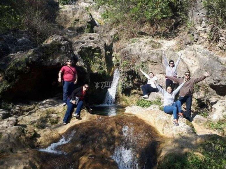 Crossing the streams