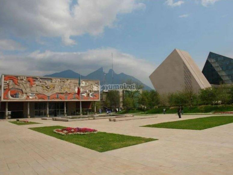 Visit in Monterrey